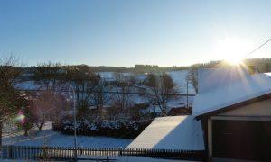 Wintersonne über Horperath